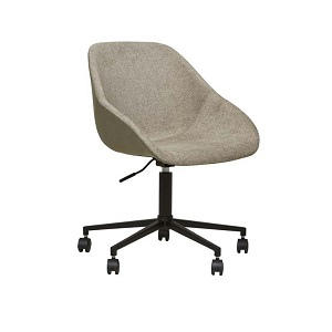 Cooper Office Chair - Khaki Grey & Soft Olive