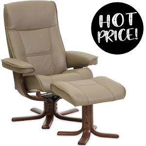 LIMITED OFFER Nordic 21 Recliner + Ottoman
