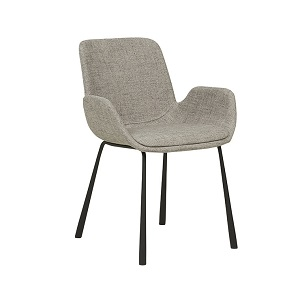 Annabel Arm Chair - Cloudy Grey