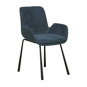 Annabel Arm Chair - Deep Blue