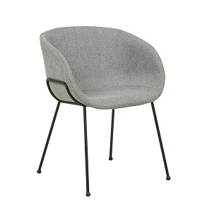 Duke Arm Chair - Grey Speckle