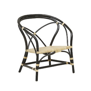 Avery Croft Occasional Chair - Natural/Black