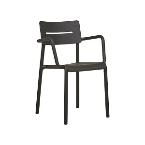 Outo Arm Chair - Black