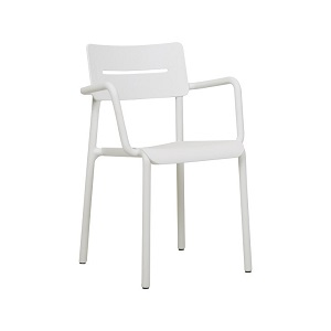 Outo Arm Chair - White