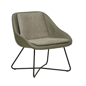 Stefan Occasional Chair - Khaki Grey Soft Olive
