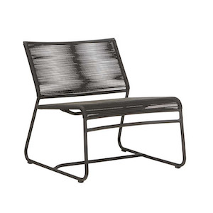 Marina Slouch Occasional Chair - Licorice