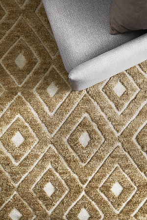 Cairo Rug - Wheat by Armadillo