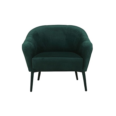Delilah Occasional Chair - Dark Green