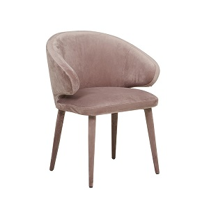 Freya Arm Chair - Dust Mauve