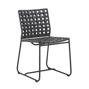 Marina Square Dining Chair - Lava