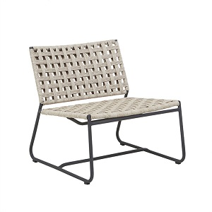 Marina Square Occasional Chair - Graphite Shell
