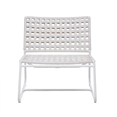 Marina Square Occasional Chair - Chalk