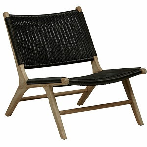 Noosa Open Occasional Chair - Black