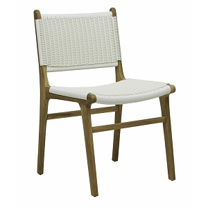 Noosa Open Dining Chair - White