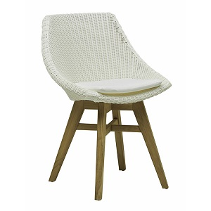 Noosa Dining Chair - White