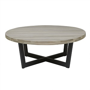 Marina Cross Coffee Table - Graphite