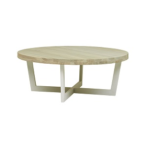 Marina Cross Coffee Table - White