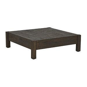 Marina Cube Square Coffee Table - Ebony