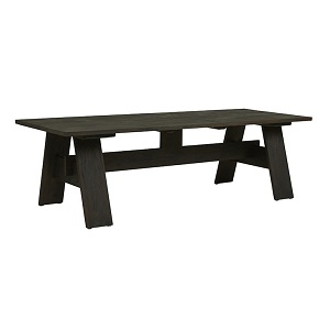 Marina Dining Table 2.5m - Ebony