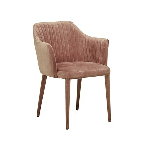 Carter Armchair - Dust Berry Velvet