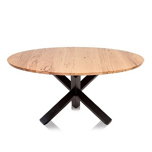 Swan Hill Round Dining Table by TimberCo