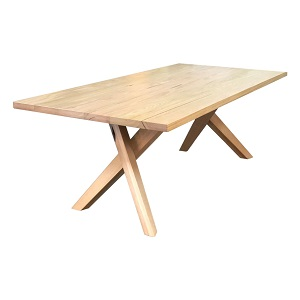 Albury Slab Top Dining Table by Timber Co