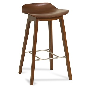 Oslo Low Back Bar Stool by IMG