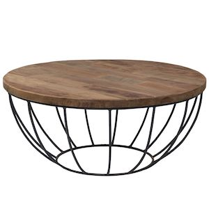 Madison Coffee Table Black by d-Bodhi