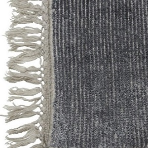 Adele Tassel Rug - Midnight