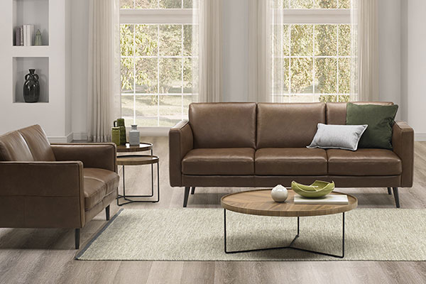 Natuzzi Editions Leather Sofas
