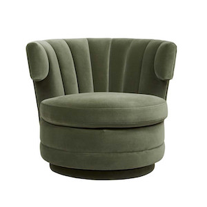Kennedy Adelaide Occasional Chair - Olive Green