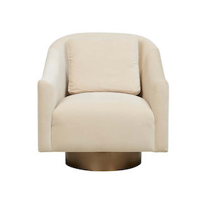 Kennedy Curve Occasional Chair - Cardenia