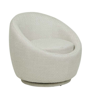 Kennedy Globe Occasional Chair - Natural Textured