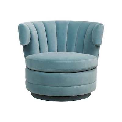 Kennedy Adelaide Occasional Chair - Ocean Blue