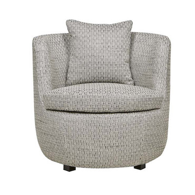Kennedy Odette Occasional Chair - Grey Textured