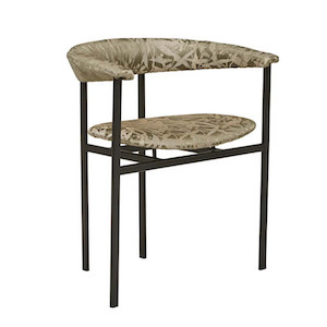 Kennedy Olive Arm Chair - Floral