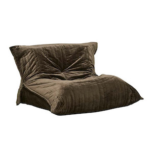 Kennedy Slouch Sofa Chair - Woodland Green