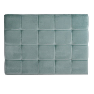Kennedy Block Bedhead - Dusty Teal