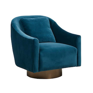 Kennedy Curve Occasional Chair - Twilight
