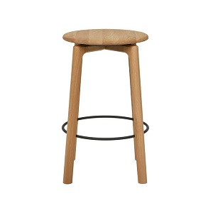 Sketch Glide Barstool - Light Oak