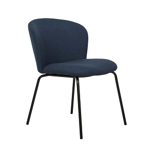 Ellis Dining Chair - Midnight Blue