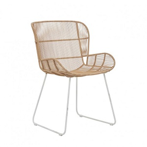 Granada Butterfly Dining Chair - Natural