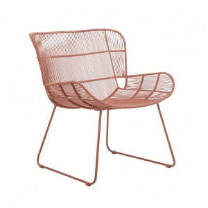 Granada Butterfly Occasional Chair - Terracotta