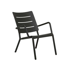 Outo Lounge Occasonal Chair - Black