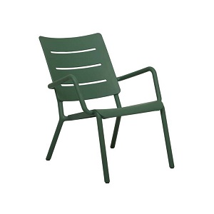 Outo Lounge Occasonal Chair - Dark Green