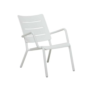Outo Lounge Occasonal Chair - White
