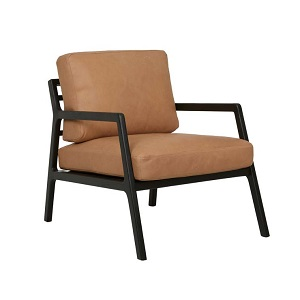 Sketch Nysse Occasional Chair - Camel Leather