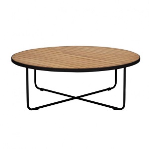 Cali Cross Coffee Table - Black