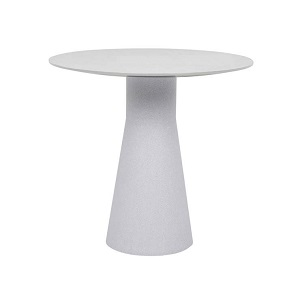 Livorno Tapered Cafe Table - White Speckle