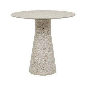 Livorno Tapered Cafe Table - Warm Sand